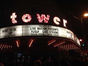 Tower marquee