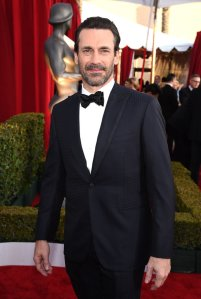 LOS ANGELES, CA - JANUARY 30: Actor Jon Hamm attends The 22nd Annual Screen Actors Guild Awards at The Shrine Auditorium on January 30, 2016 in Los Angeles, California. 25650_013 (Photo by Dimitrios Kambouris/Getty Images for Turner)