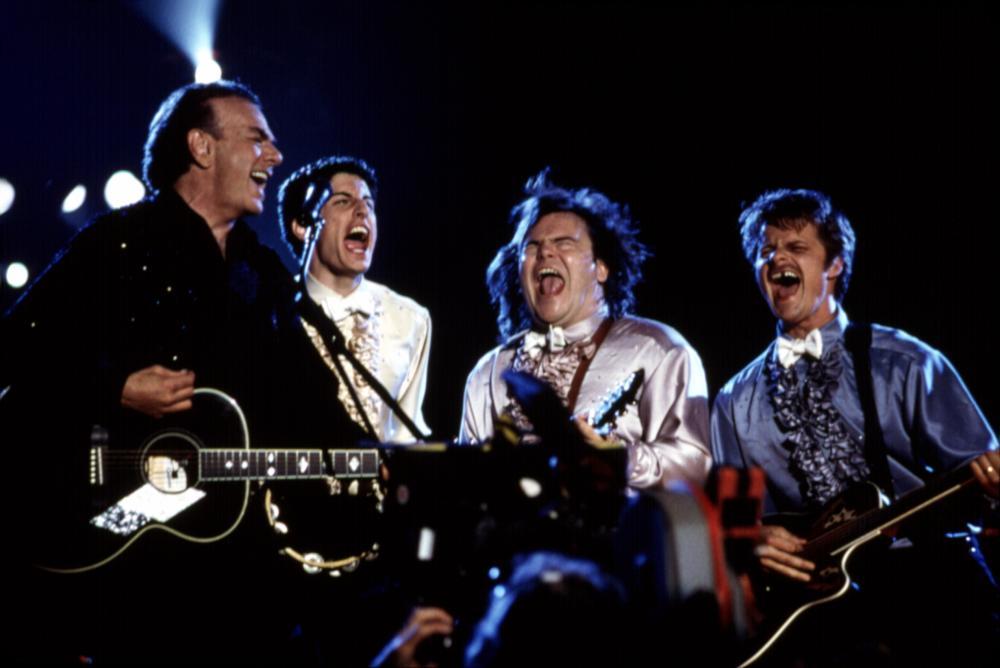 SAVING SILVERMAN, Neil Diamond, Jason Biggs, Jack Black, Steve Zahn, 2001