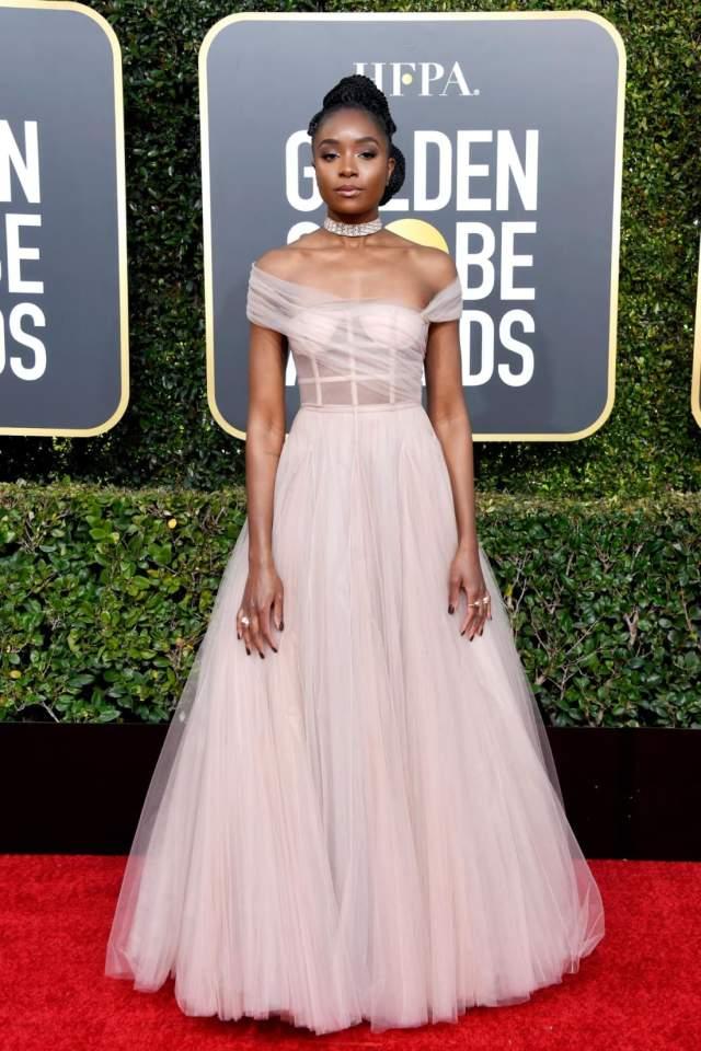 golden 1 pink dress