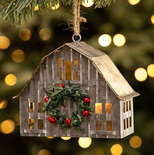 cb barn ornament