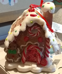 cb gingerbread house ornament