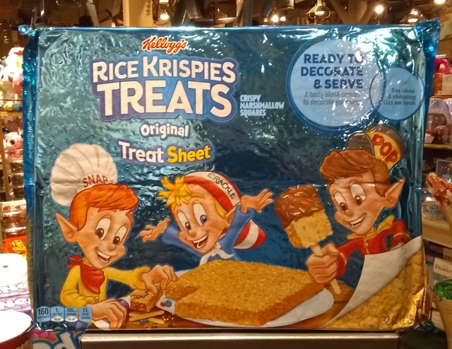 cb rice krispie treats