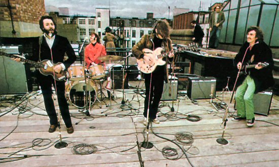 The-Beatles Rooftop