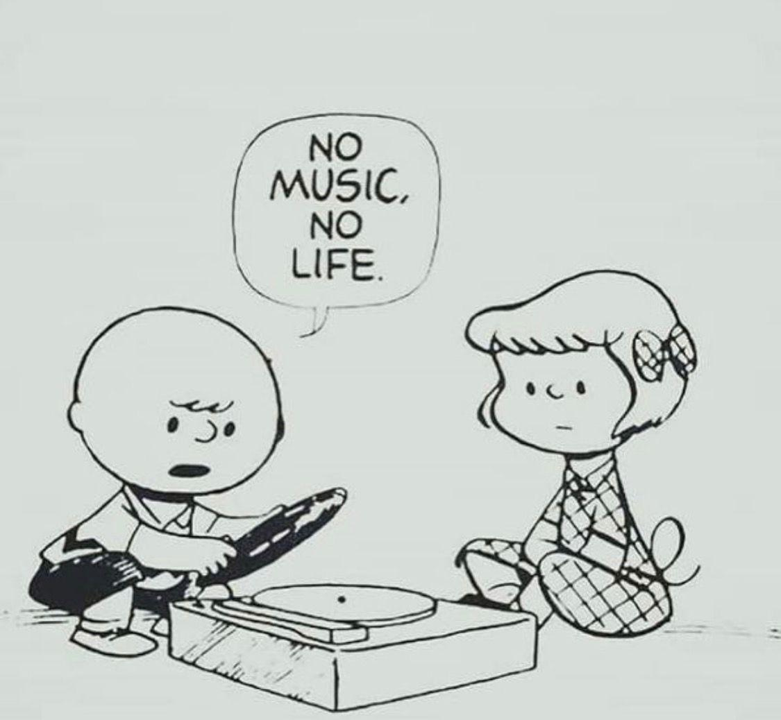 Charlie Brown No Music No Life