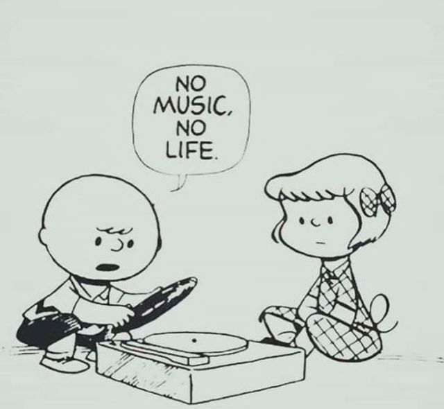 Charlie Brown No Music No Life