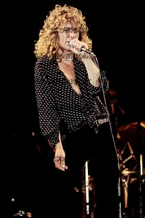 Led Zeppelin - vocalist Robert Plant performing live on what would be the band's final UK performance at Knebworth Park in Hertfordshire UK - 11 Aug 1979. Photo credit: Alan Perry/IconicPix ***LO-RES IMAGE - Please contact IconicPix to approve usage and HI-RES image***