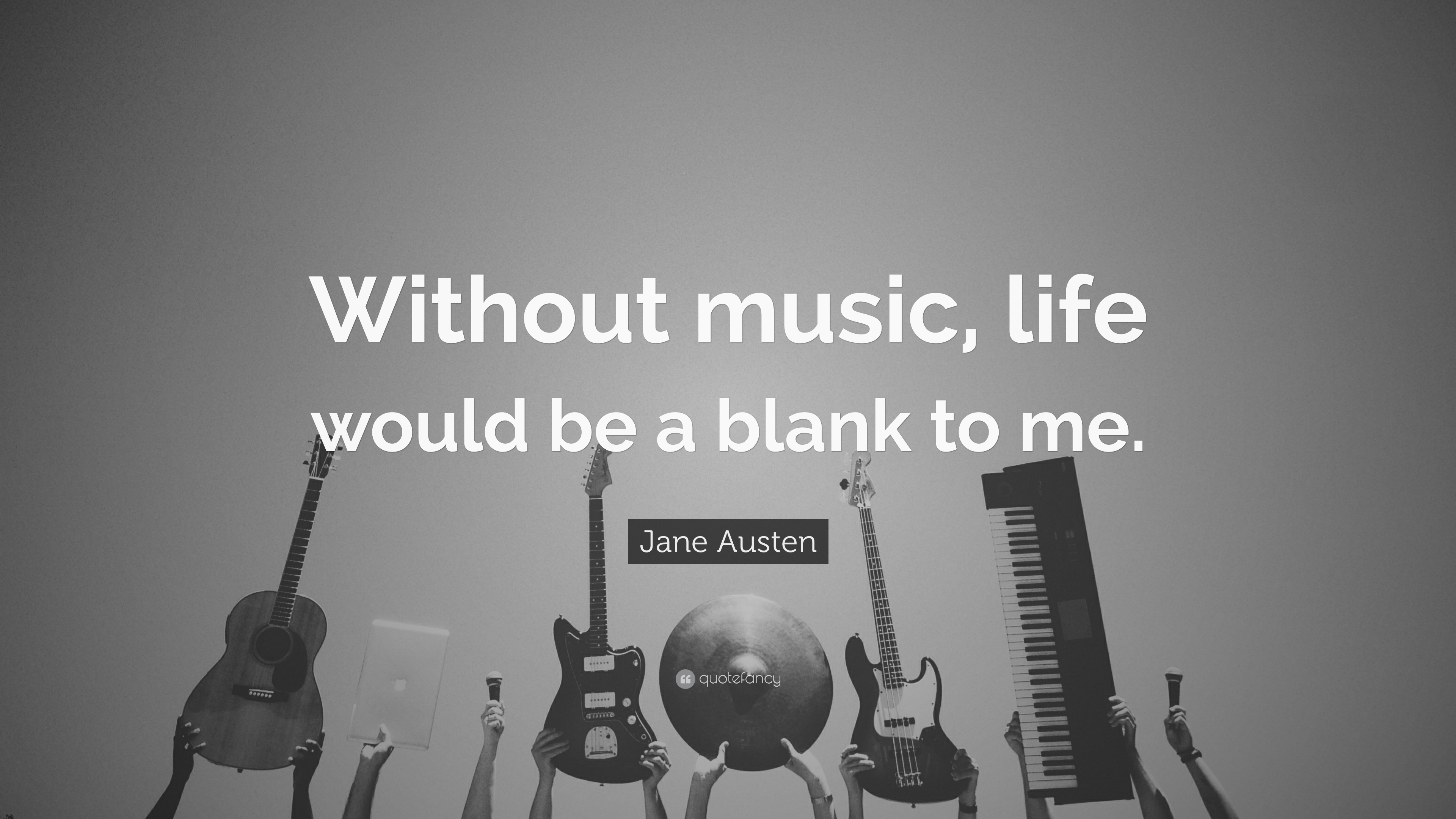 Jane Austen Music Quote