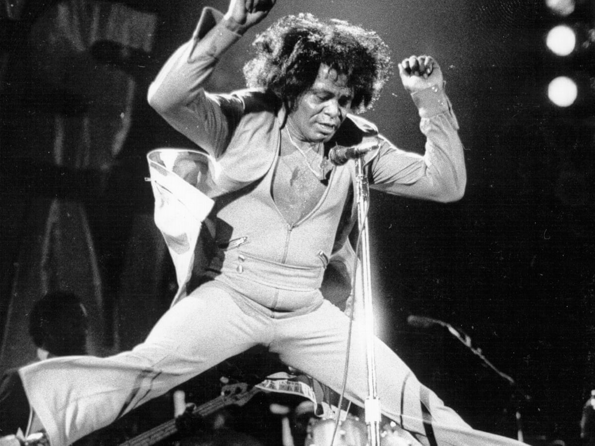 James Brown circa 1974
