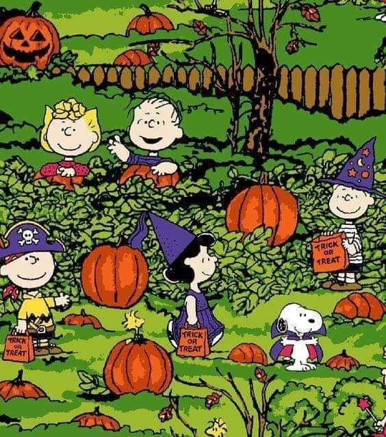 Peanuts trick or treat