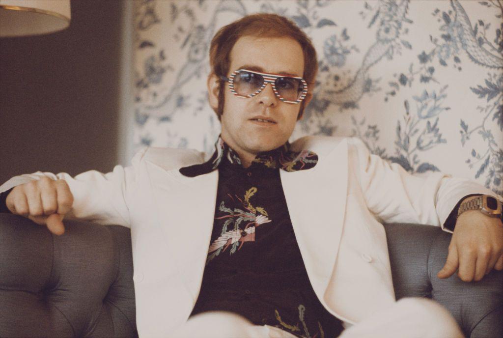 Elton circa 1977