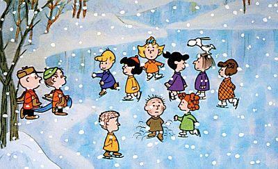 Peanuts Skating