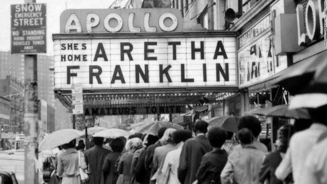 Aretha at Apollo