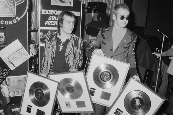 Bernie and Elton 1975