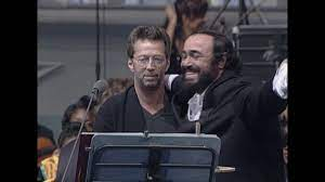 Clapton and Pavarotti