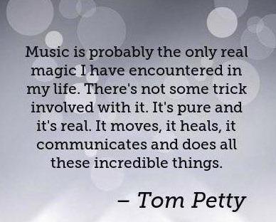 Tom Petty music quote